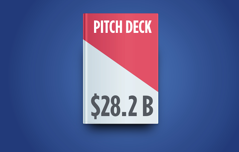 create a business pitch presentation that borrows from venture